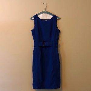 Royal Blue Calvin Klein Dress Size 2